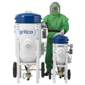 Druckstrahlgeräte Gritco mit Flächenleistung